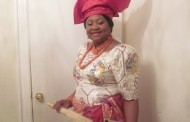 Lolo K.C. Ochiagha of New York City in her Traditional Igbo Regalia