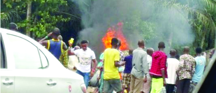 Nnewi: 4 feared dead in auto crash