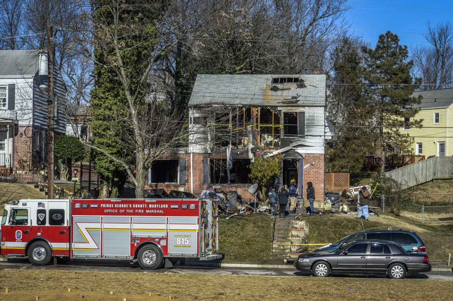 Tragedy as Nigerian family perish in US house fire