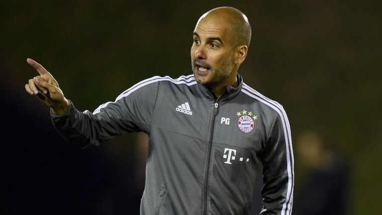 Manchester United deny Pep Guardiola's link