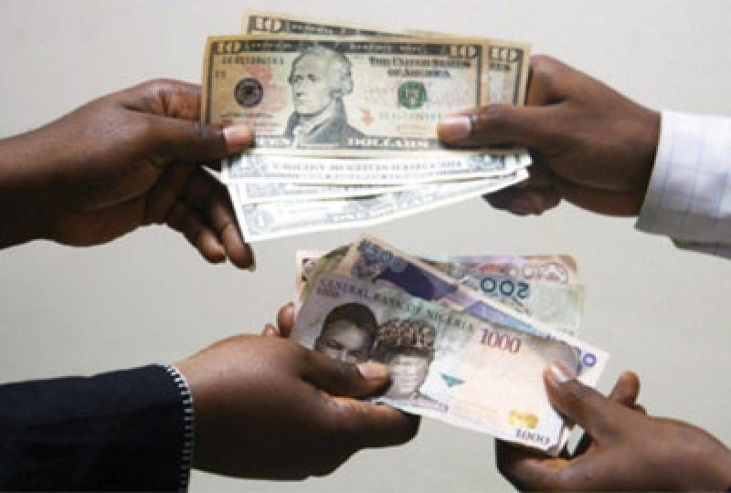 See Naira Exchange Rate Against Dollar Pound Euro Today