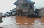 Asaba Under Flooding After Three-Hour Rain