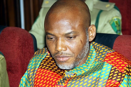 Nnamdi Kanu has sacked lawyers for speaking against Niger Delta Avengers