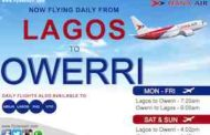 Dana Air Begins Daily Flights From Lagos To Owerri…Sets N12, 600 As Introductory Fare
