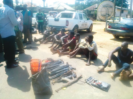 Police Recover Vehicles, Parade Robbery Suspects In Imo