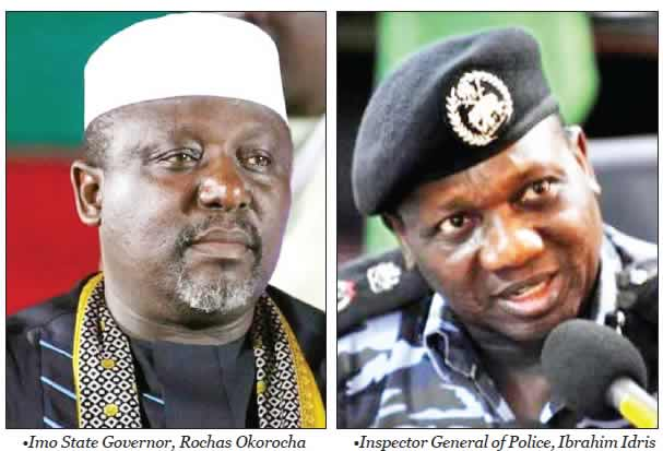 Imo Traditional Ruler Claims He Uses Commission He Collects From Land Sales To Rent Houses For Policemen And Service Their Vehicles