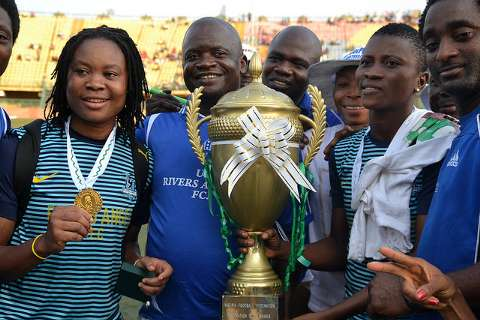 Women's Federation Cup: Rivers Angels Crowned Champions