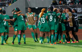 Falcons Players Seize AWCON Trophy Over N238m Debt