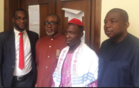 The Three Men Who Signed For Kanu's Bail