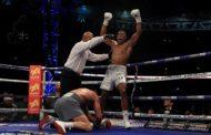 IBF Title: Nigerian-British Anthony Joshua Knocks Out Wladimir Klitschko