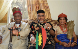 My Son Doesn't Want Any War - Nnamdi Kanu's Father Says