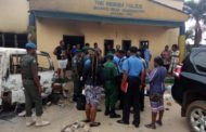 Burned Ariaria Police Station In Aba
