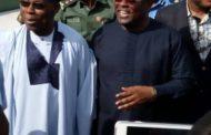Obasanjo in Ebonyi For Anti-Hunger Tour