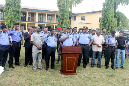 Press Conference By The Imo State Police Command On (October 30th)  On Crime Situation In Imo State