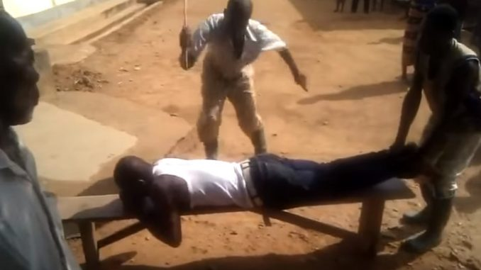 Phone Repairer Receives 22 Strokes Of Cane For Stealing Palm Oil