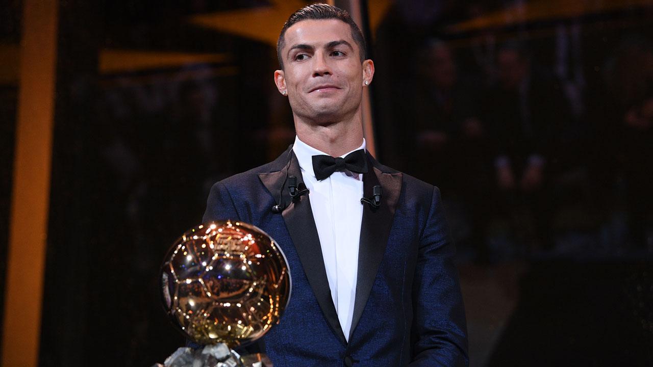 Ronaldo Wins Fifth Ballon d'Or Award