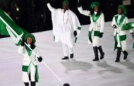 Nigerian Flag Flies High As Winter Olympics Opens