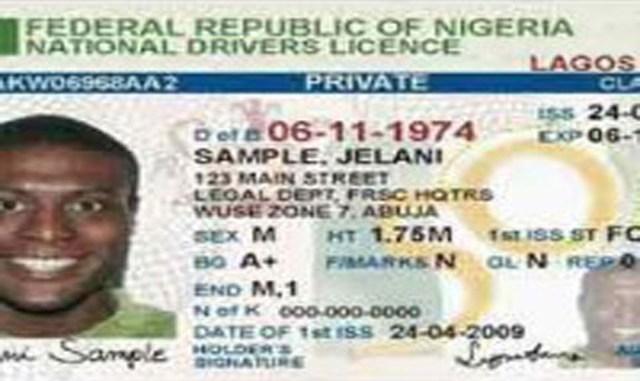 nigeria drivers license